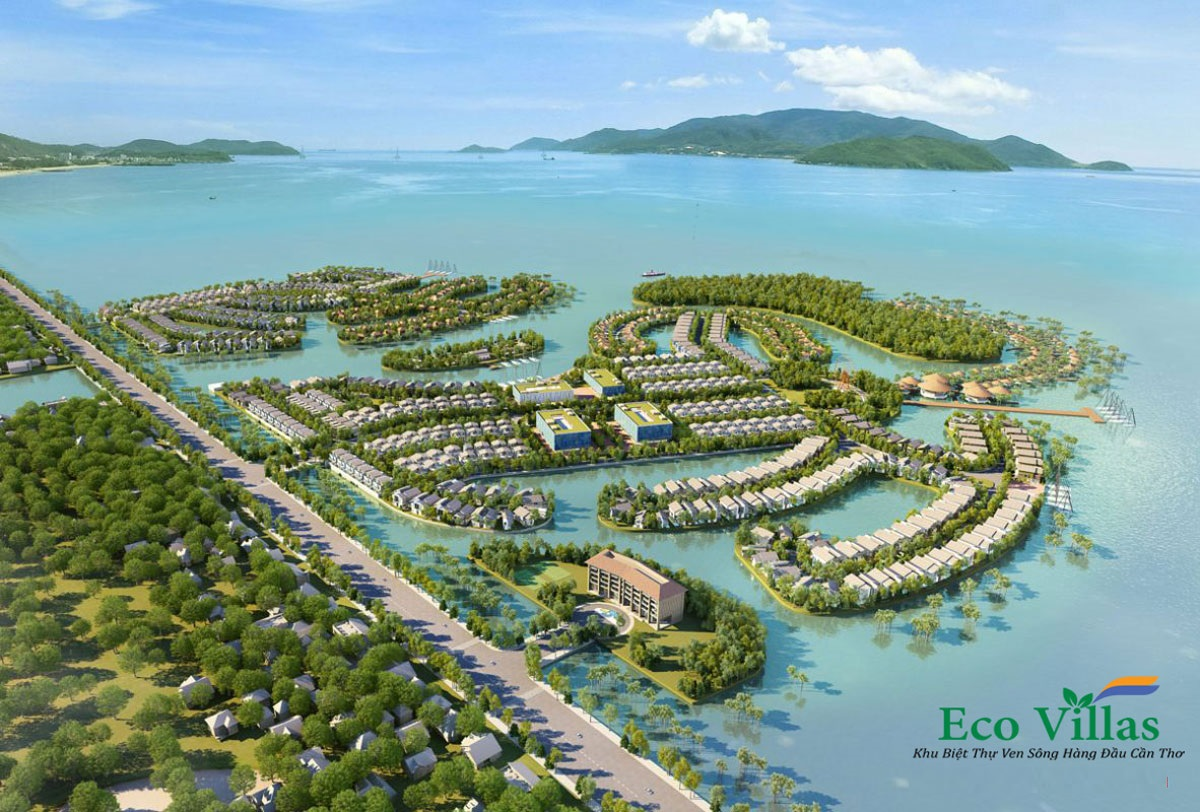 Mat bang Eco Villas