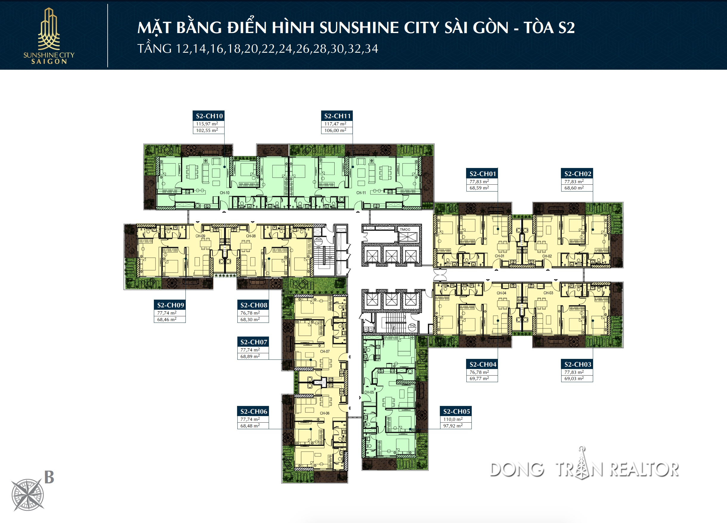 MAT BANG SUNSHINE CITY SAIGON